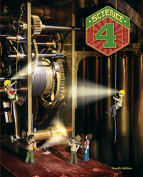 Science 4, 4th ed. by BJU Press (textbook cover image)