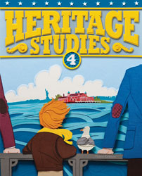 Heritage 4, 3rd ed. by BJU Press (textbook cover image)