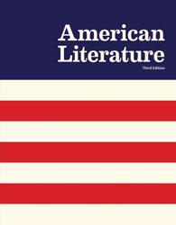 American Literature, 3rd ed. by BJU Press (textbook cover image)