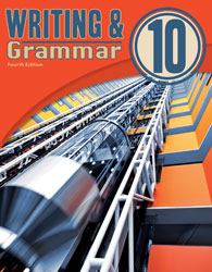 English 10, 4th ed. by BJU Press (textbook cover image)