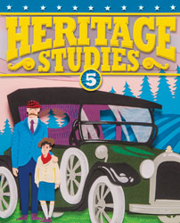 Heritage 5, 4th ed. by BJU Press (textbook cover image)