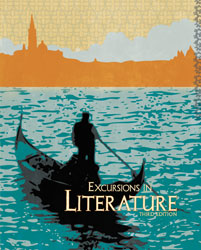Excursions in Literature, 3rd ed. by BJU Press (textbook cover image)