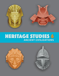 Heritage 6, 4th ed. by BJU Press (textbook cover image)