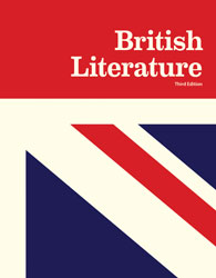 British Literature, 3rd ed. by BJU Press (textbook cover image)