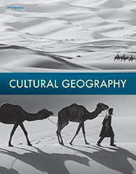 Cultural Geography, 5th ed. by BJU Press (textbook cover image)
