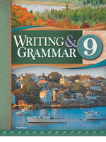 English 9, 3rd ed. by BJU Press (textbook cover image)