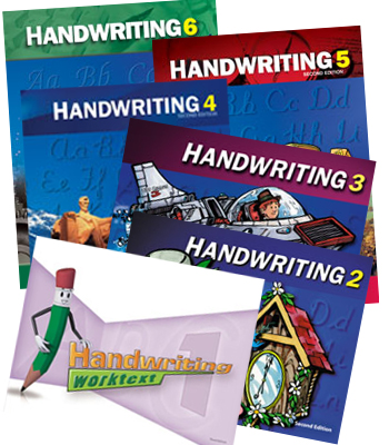 Handwriting 3 by BJU Press (textbook cover image)