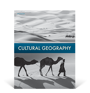 the cover of the Cultural Geography Student Edition