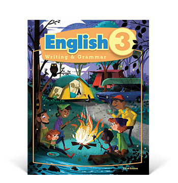 the cover of the English 3 Student Edition