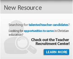 Check out the Teacher Recruitment Center