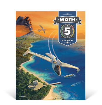 the cover of the Math 5 Student Edition