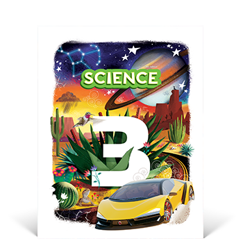 the cover of the Science 3 Student Edition