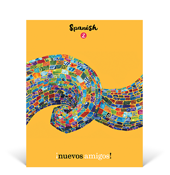the cover of the Spanish 2 Student Edition