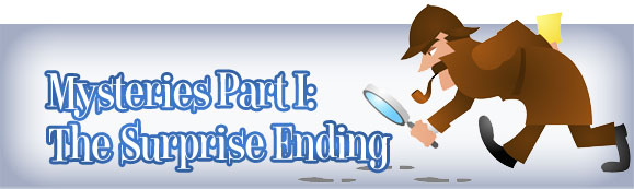 the surprise ending Unlike most editing & proofreading services, we edit for everything: grammar, spelling, punctuation, idea flow, sentence structure, & more get started now.