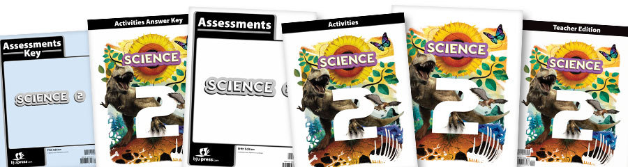 Science 2 Christian textbooks
