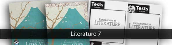 Literature 7 Christian textbooks