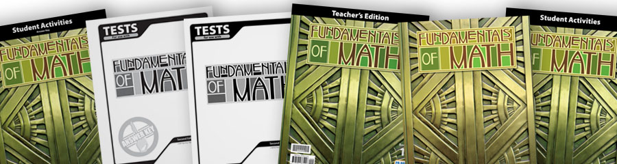 Math 7 Christian textbooks