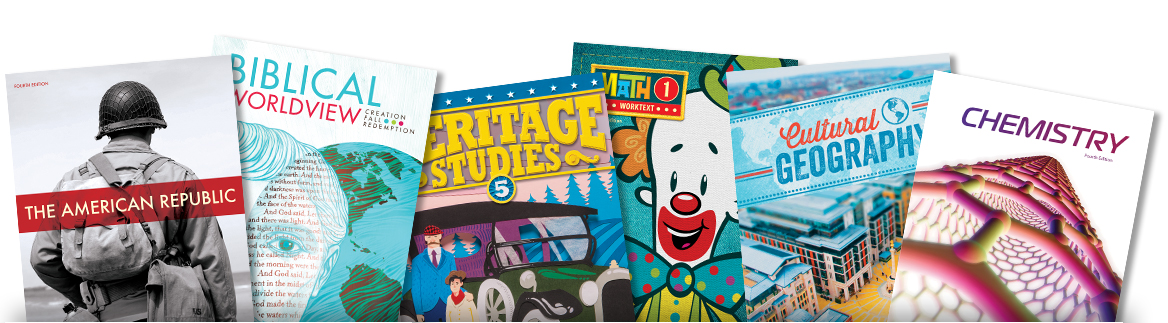 BJU Press: Creative. Credible. Christian.   Biblical integration for an education you can trust.