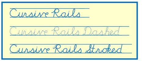 Cursive Rails sample