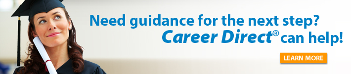 Need guidance for the next step? Career Direct can help!