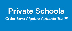 private schools order algebra aptitude