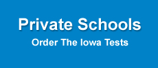 private schools, order iowa tests