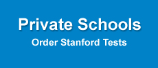 private schools, order the stanford tests