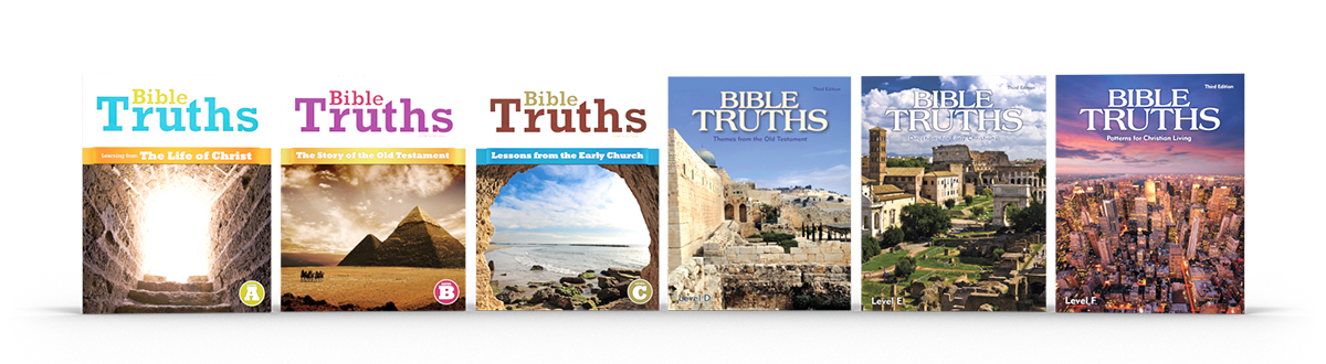 the secondary Bible Truths product covers